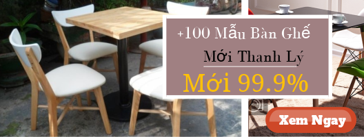 Thanh ly quan cafe