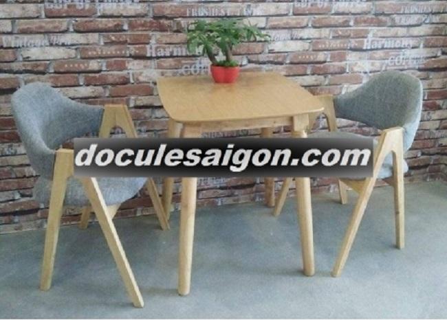 Mẫu bàn ghế quán cà phê đơn giản