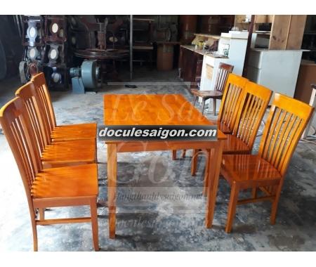 Mẫu bàn ghế quán cà phê đơn giản 3