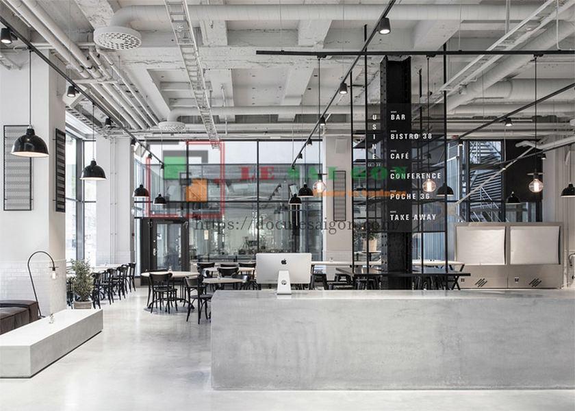 quán cafe phong cách scandinavian