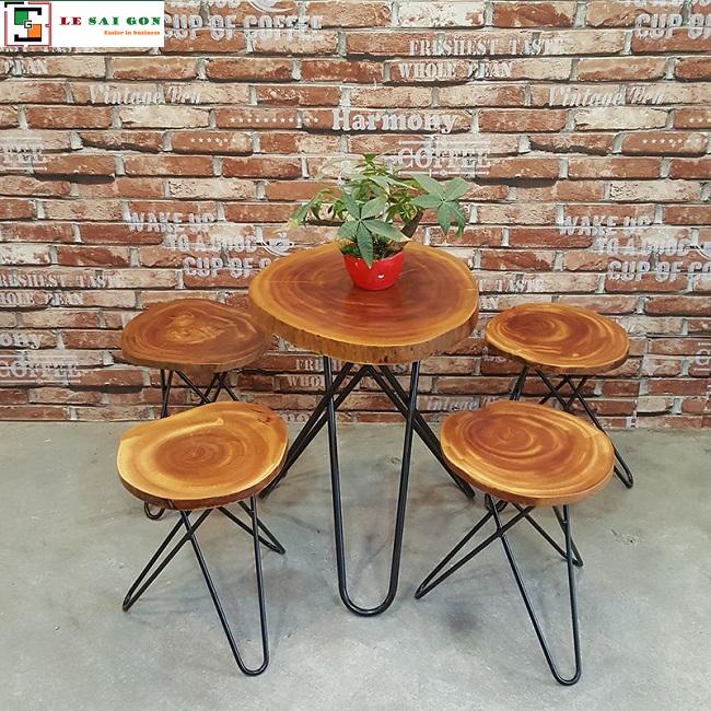 Bộ bàn ghế cafe giá rẻ tại tphcm
